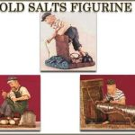 Old Salts Figurine