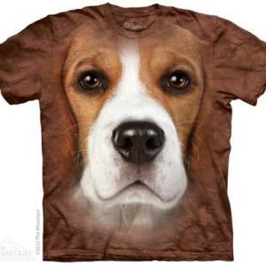 Beagle Face Adult T-Shirt
