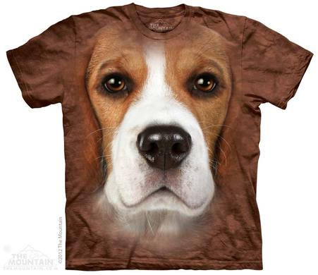 Beagle Face Adult T-Shirt