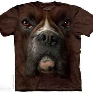 Boxer Face Adult T-Shirt