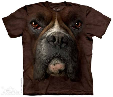 Boxer Face Adult T-Shirt