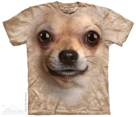 Chihuahua Face Adult T-Shirt