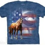 Wild Star Patriotic Adult T-Shirt