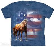 Wild Star Patriotic Adult T-Shirt
