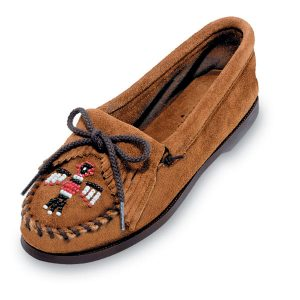 Women's Brown Suede Thunderbird Boat Sole