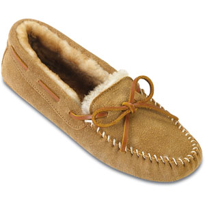 Women Sheepskin Softsole Minnetonka Moccasin