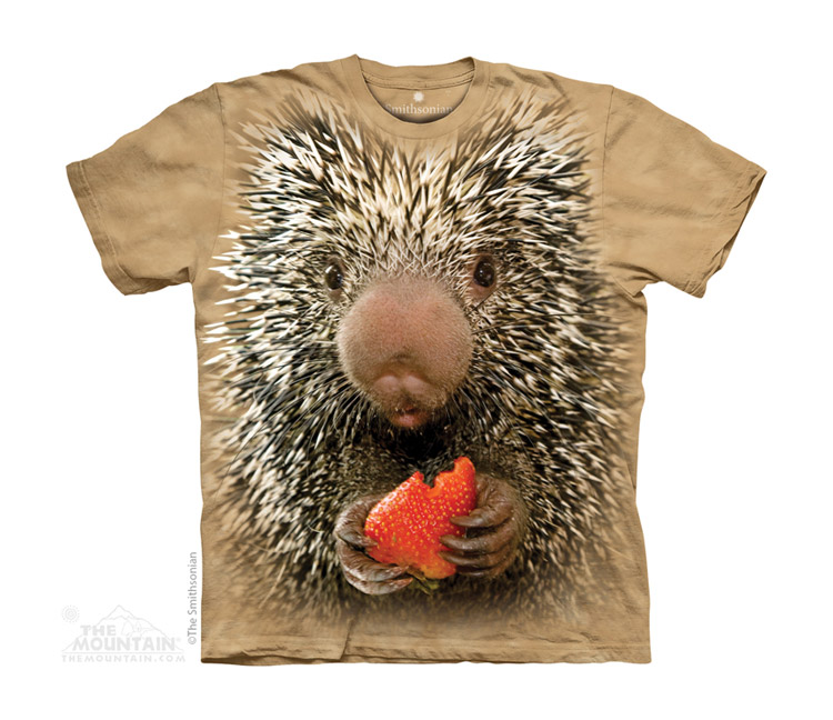 The Mountain Youth Porcupine Smithsonian Tee Shirt, Maine